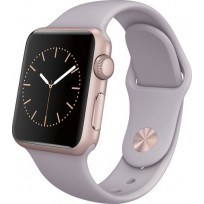 APPLE WATCH 38MM ROSE GOLD WITH LAVENDER STRAP