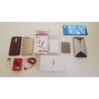 LG G4 ACCESSORY BUNDLE - HEADSET, GLASS PROTECTOR, BATTERY, ETC